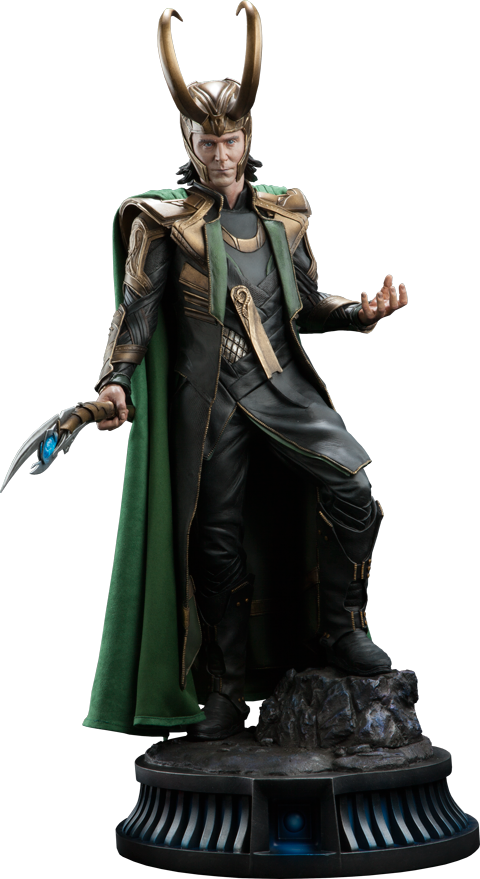 Loki 1/4th Scale Premium Format Statue by Sideshow Collectibles-Sideshow Collectibles- www.superherotoystore.com-Statue - 1