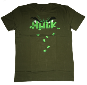 Hulk: The Green Superhuman by Vox Pop Clothing-Vox Pop Clothing- www.superherotoystore.com-T-Shirt - 1