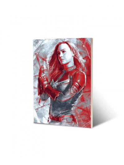 Marvel Avengers Captain Marvel stroke Notebook by EFG -www.superherotoystore.com - India - www.superherotoystore.com