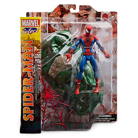 Marvel Select Spider-Man Action Figure-Diamond Select toys- www.superherotoystore.com-Action Figure - 2