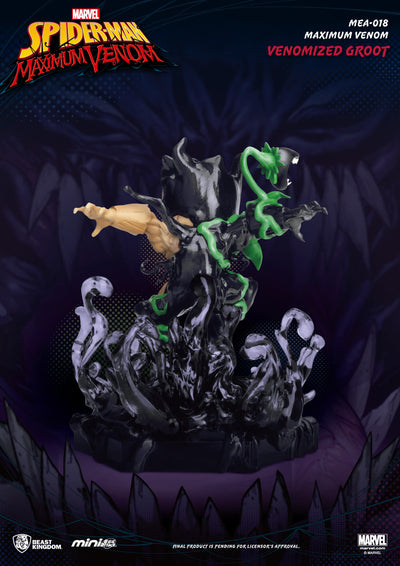 Marvel Comics Venomized Groot Mini Egg Attack Figure by Beast Kingdom -Beast Kingdom - India - www.superherotoystore.com
