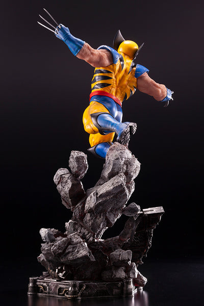 Marvel Comics X-Men Wolverine Fine Art Statue by Kotobukiya