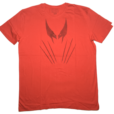 Wolverine Red T-Shirt by Vox Pop Clothing -Vox Pop Clothing - India - www.superherotoystore.com