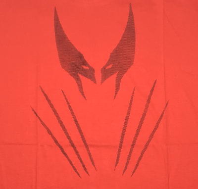 Wolverine Red T-Shirt by Vox Pop Clothing-Vox Pop Clothing- www.superherotoystore.com-T-Shirt - 2