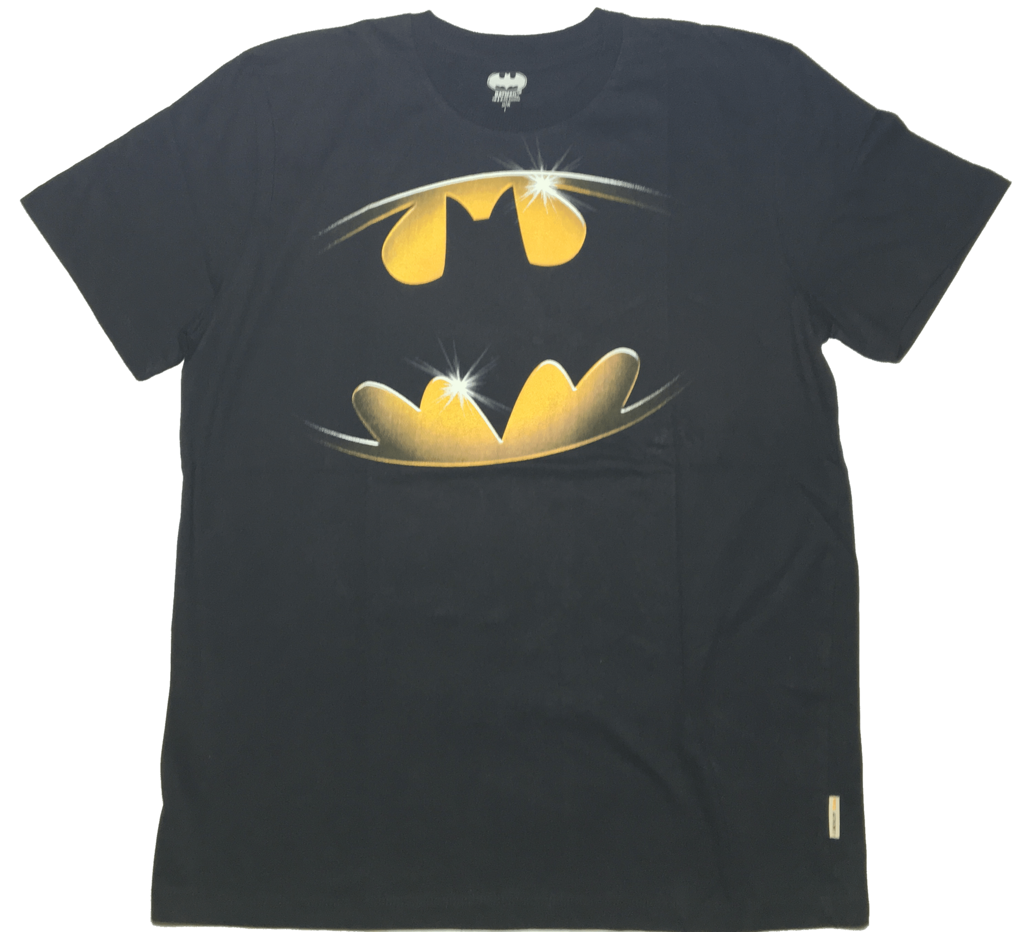 Batman Logo T-Shirt by Bio World-Bio World- www.superherotoystore.com-T-Shirt