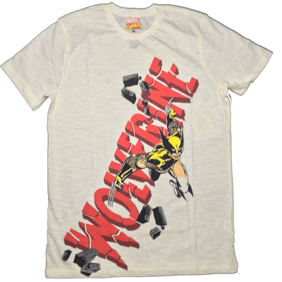 Marvel Comics Wolverine White T-shirt-Bio World- www.superherotoystore.com-T-Shirt - 1