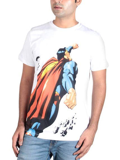 Superman White T-Shirt