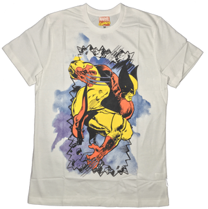 Wolverine Masked White T-shirt by Bio World-Bio World- www.superherotoystore.com-T-Shirt - 1