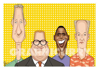 Whose Line Poster by Graphicurry -Graphicurry - India - www.superherotoystore.com