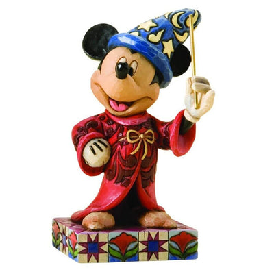 Disney Sorcerer Mickey Figure by Enesco -Enesco - India - www.superherotoystore.com