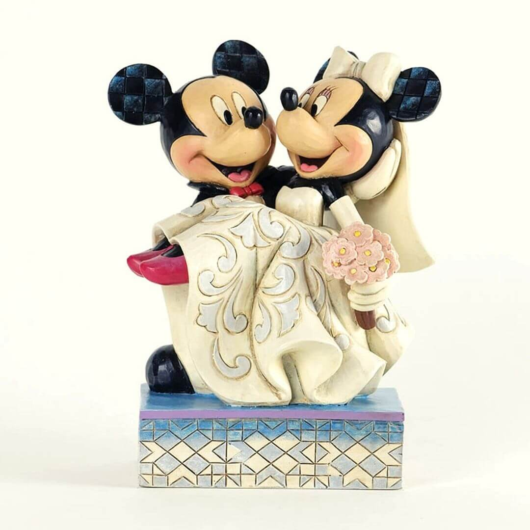 Disney Mickey & Minnie Wedding Figure by Enesco -Enesco - India - www.superherotoystore.com