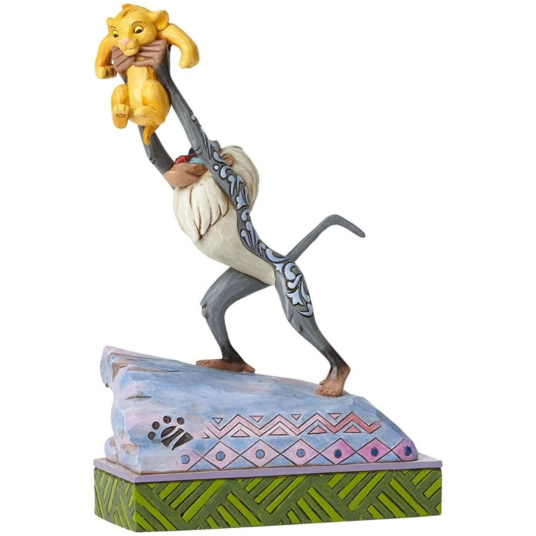 Lion King Rafiki and Baby Simba Figure by Enesco -Enesco - India - www.superherotoystore.com