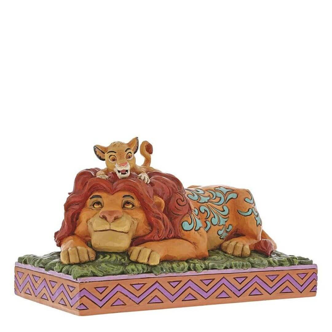 Lion King Simba & Mufasa Figure by Enesco -Enesco - India - www.superherotoystore.com