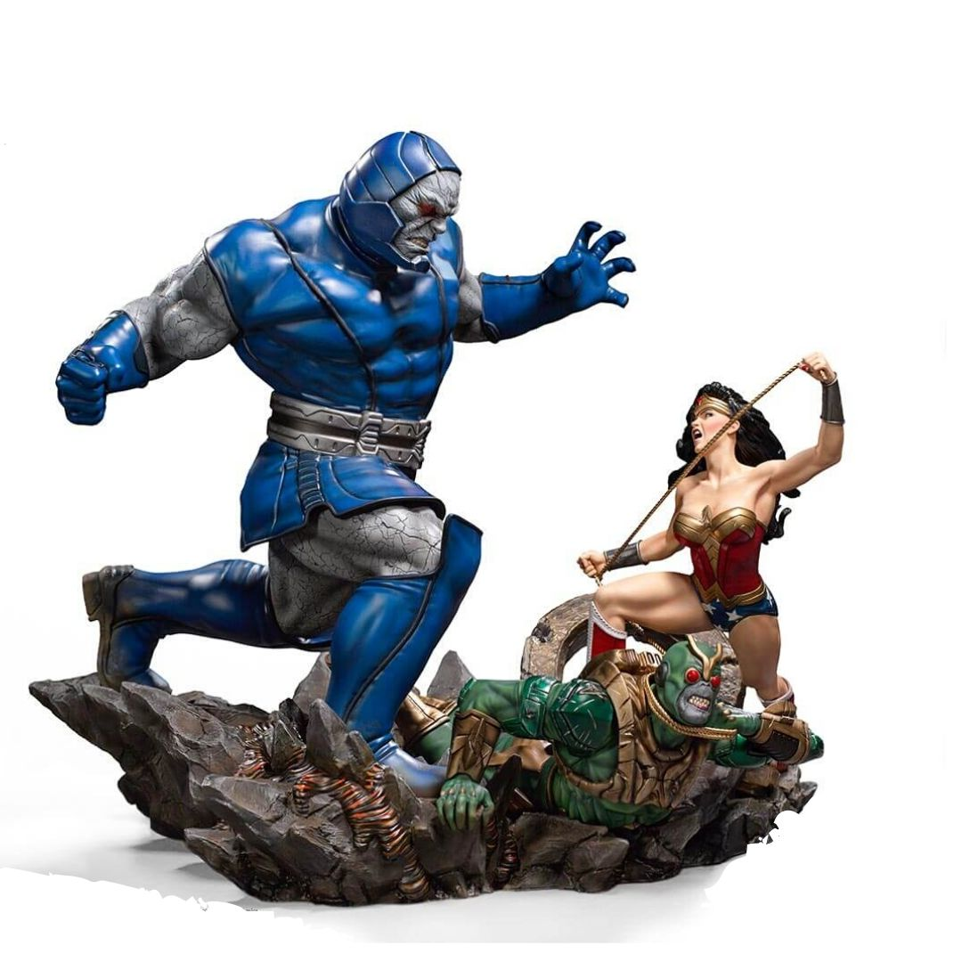 DC Comics Wonder Woman Vs Darkseid Diorama 1:6th Scale Statue by Iron Studios -Iron Studios - India - www.superherotoystore.com