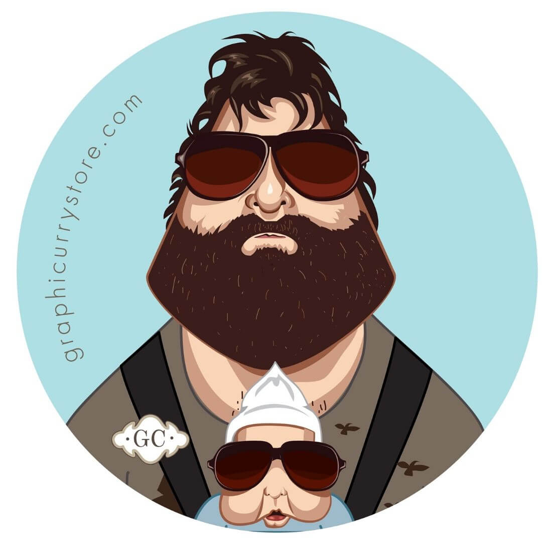 The Hangover Badge by Graphicurry