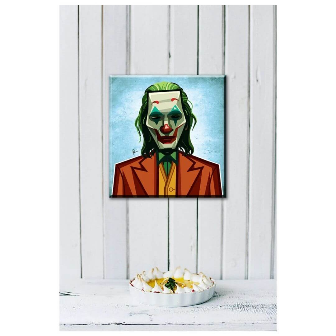 Call Me Joker Wall Art -Graphicurry - India - www.superherotoystore.com