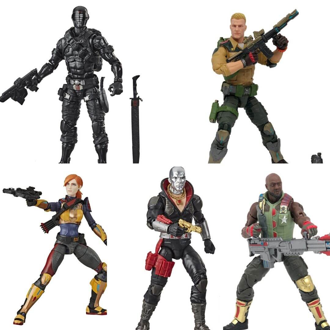GI Joe Classified Series (Wave 1) Action Figure Set by Hasbro -Hasbro - India - www.superherotoystore.com