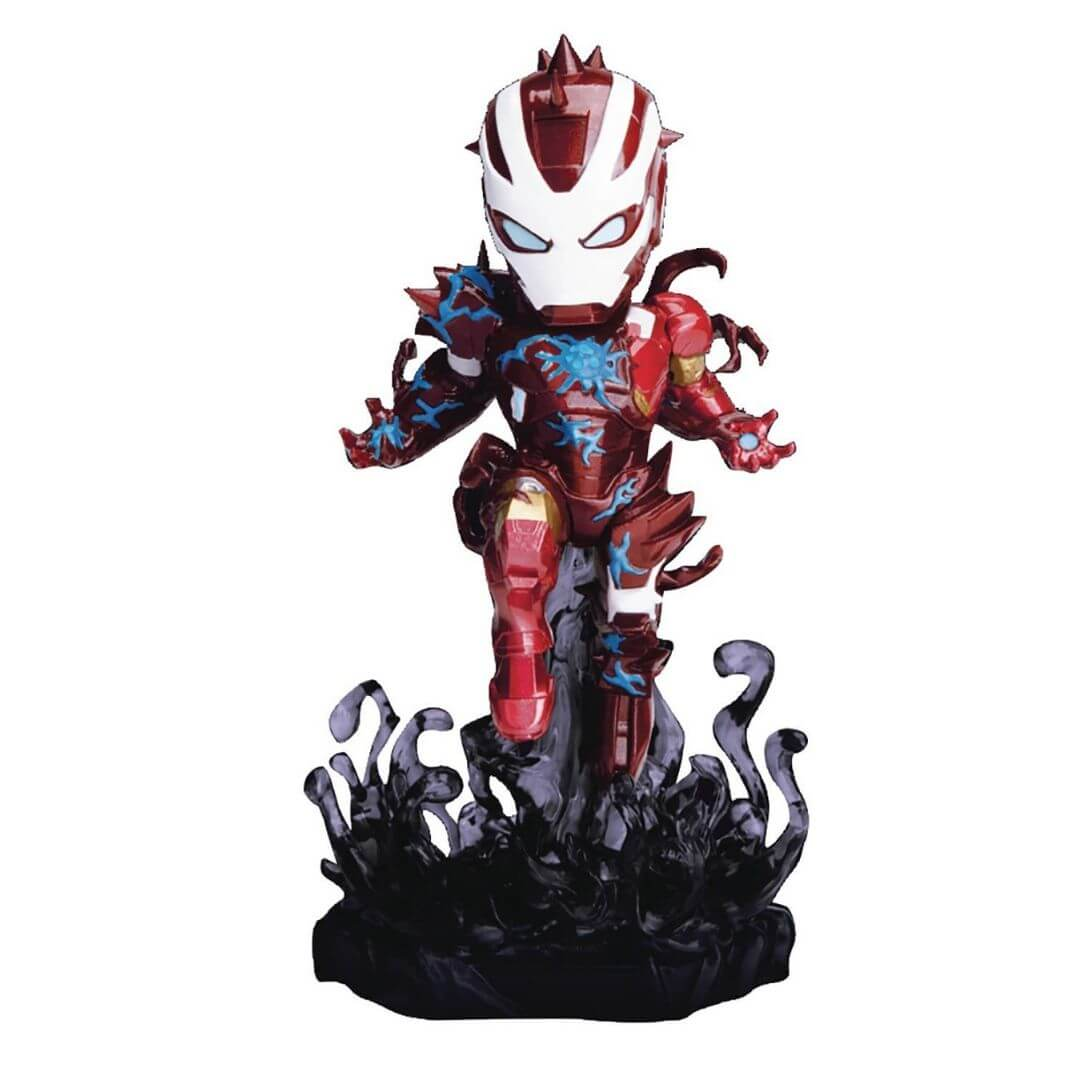Marvel Comics Venomized Iron Man Mini Egg Attack Figure by Beast Kingdom