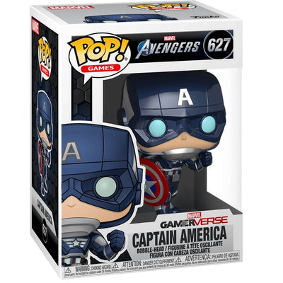 Marvel Gameverse Avengers Captain America Bobble-Head by Funko -Funko - India - www.superherotoystore.com