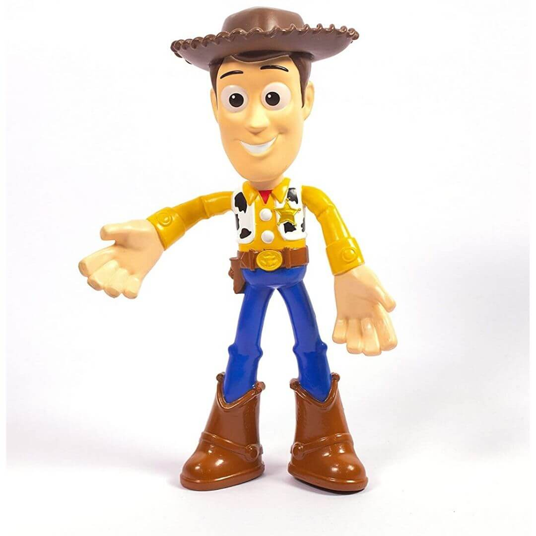Toy Story 7-Inch Bendable Woody Figure by Mattel -Mattel - India - www.superherotoystore.com