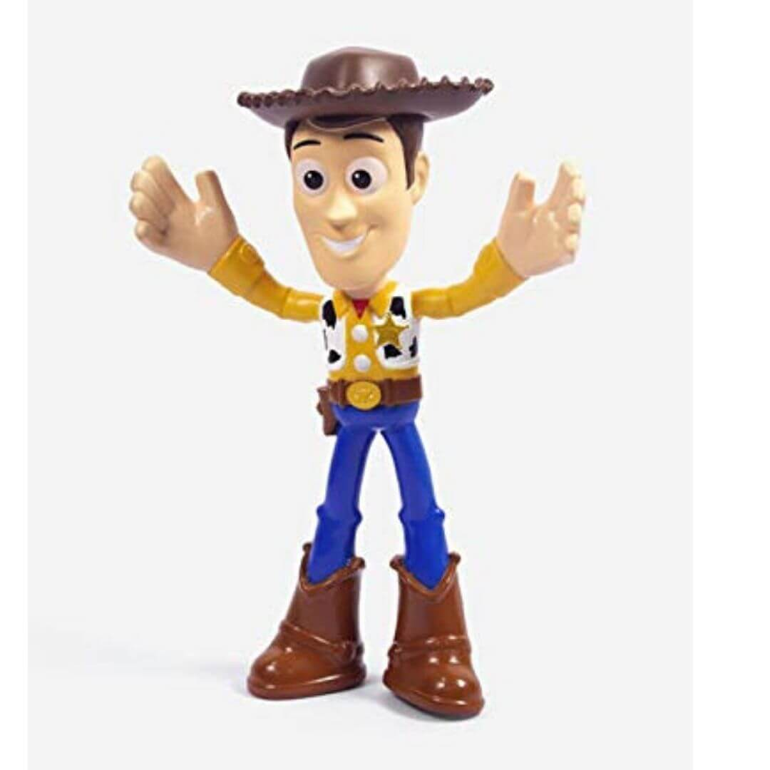 Toy Story 4-inch Bendable Woody Figure by Mattel -Mattel - India - www.superherotoystore.com