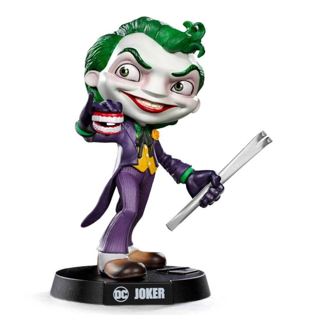 DC Comics MiniCo Joker Figure by Iron Studios -MiniCo - India - www.superherotoystore.com