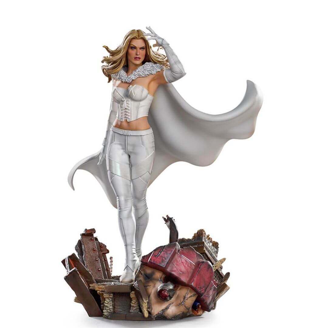 Marvel Comics X-Men Emma Frost 1:10th Scale Statue by Iron Studios -Iron Studios - India - www.superherotoystore.com