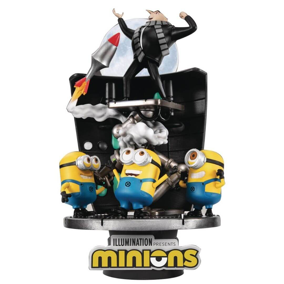 Despicable Me Stealing Moon Diorama Set by Beast Kingdom -Beast Kingdom - India - www.superherotoystore.com