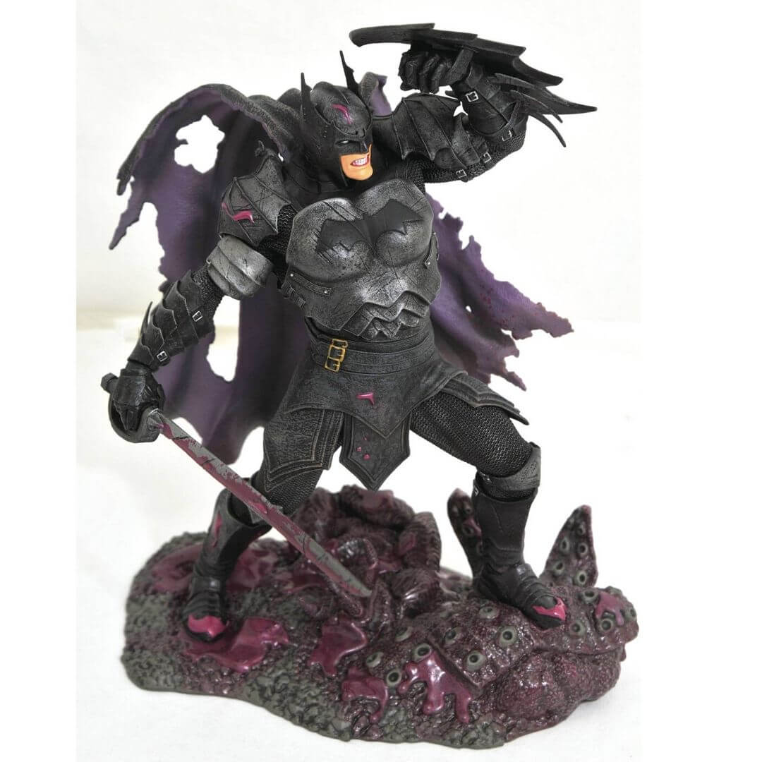 DC Gallery Comic Dark Nights Metal Batman Statue by Diamond Select Toys -Diamond Select toys - India - www.superherotoystore.com