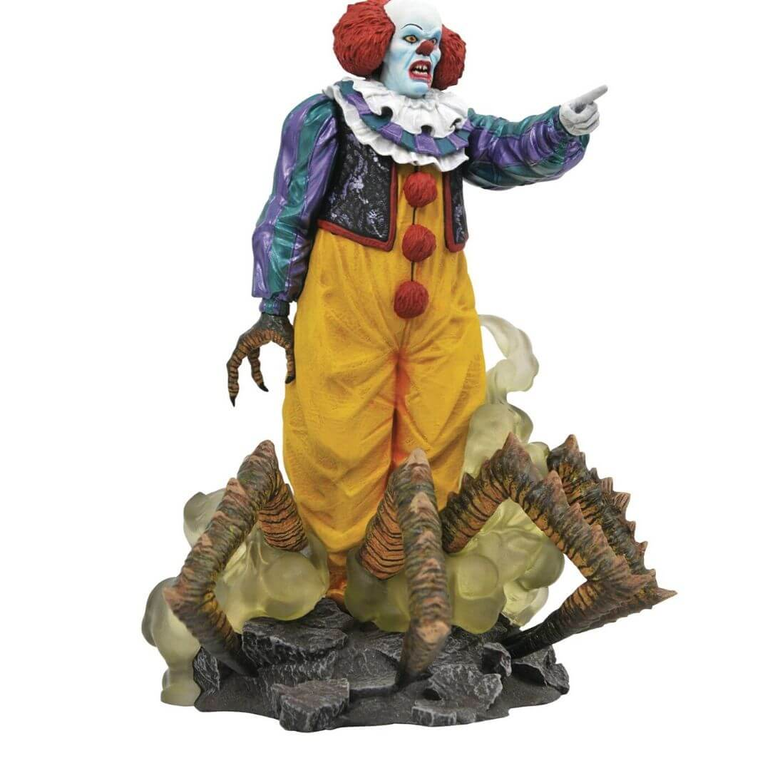 IT 1990 Gallery Pennywise Statue by Diamond Select Toys -Diamond Select toys - India - www.superherotoystore.com