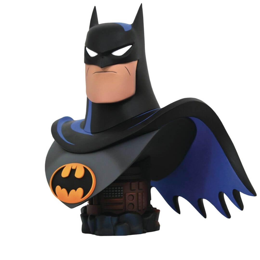 Batman The Animated Series Legends in 3D Batman 1:2 Scale Bust by Diamond Select Toys -Diamond Select toys - India - www.superherotoystore.com