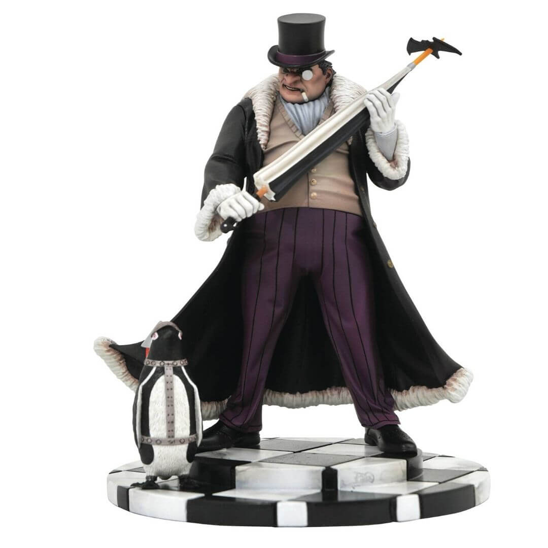 DC Gallery Comic Penguin Statue by Diamond Select Toys -Diamond Select toys - India - www.superherotoystore.com
