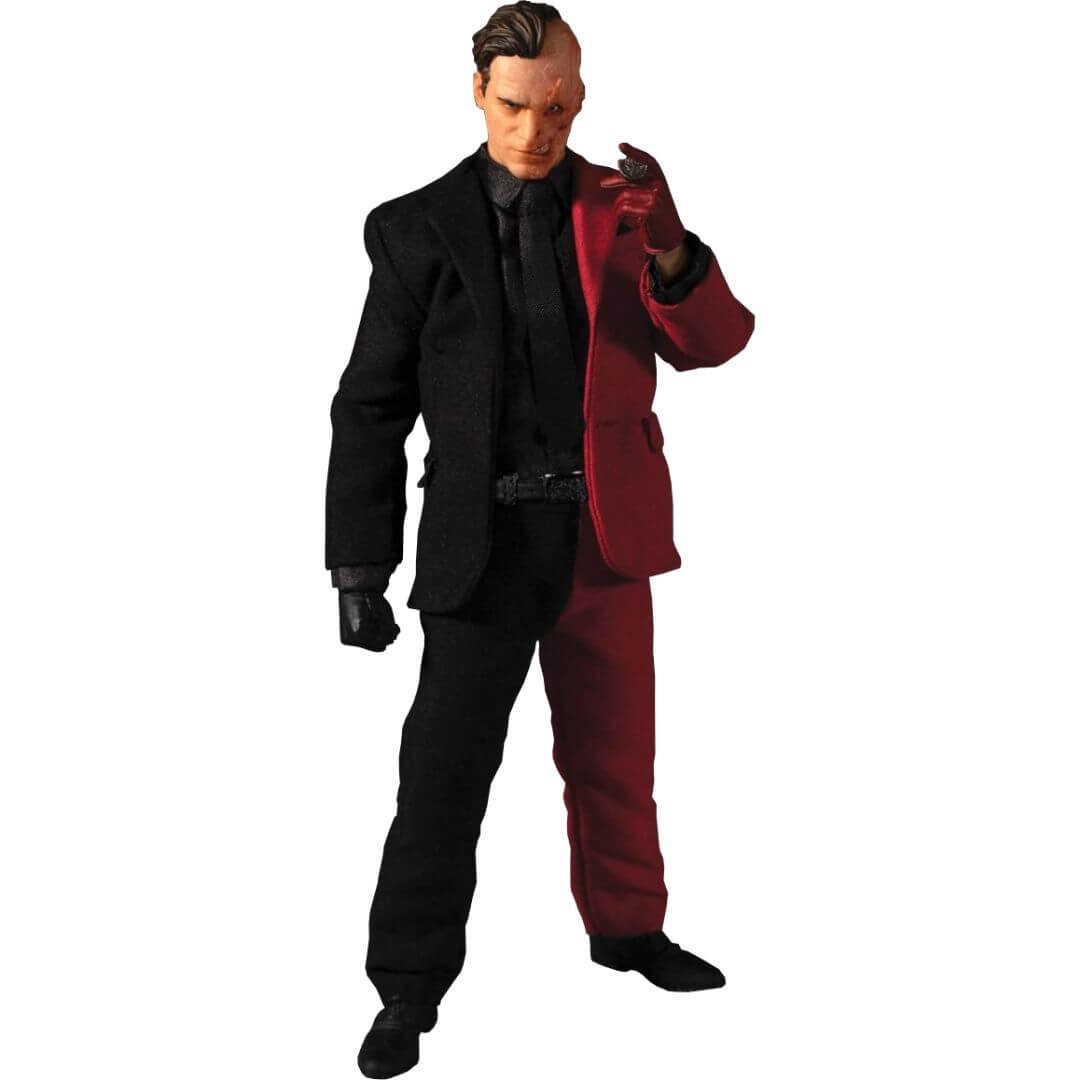 Batman Two-Face One:12 Collective Action Figure by Mezco Toys -Mezco Toys - India - www.superherotoystore.com