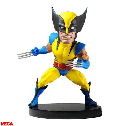 Marvel Classic Wolverine Head Knocker by Neca (Refurbished) -NECA - India - www.superherotoystore.com