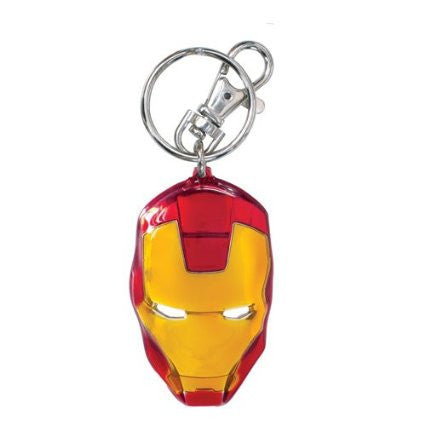 Marvel Iron Man Classic Face Color Pewter Keyring -Monogram International - India - www.superherotoystore.com