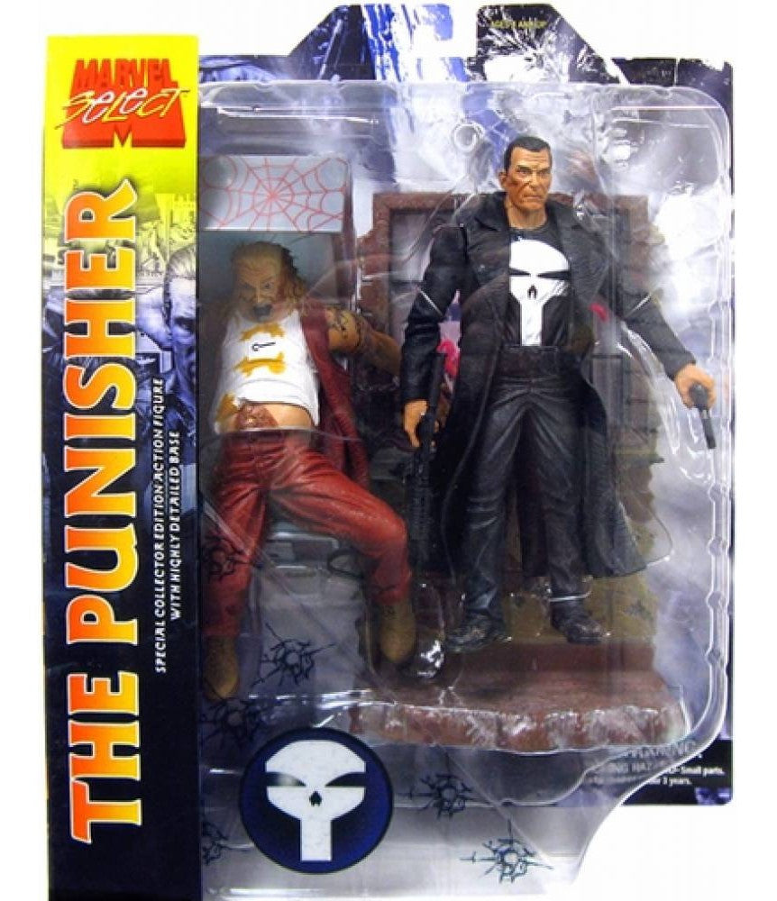 Marvel Select Punisher Action Figure-Diamond Select toys- www.superherotoystore.com-Action Figure - 2