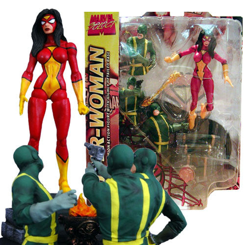 Marvel select Spider-woman-Diamond Select toys- www.superherotoystore.com-Action Figure - 1