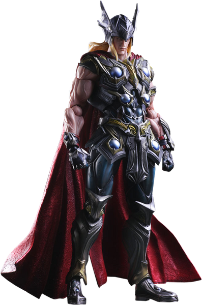 Marvel Variant Thor Play Arts Kai Figure by Square Enix-Square Enix- www.superherotoystore.com-Action Figure - 1