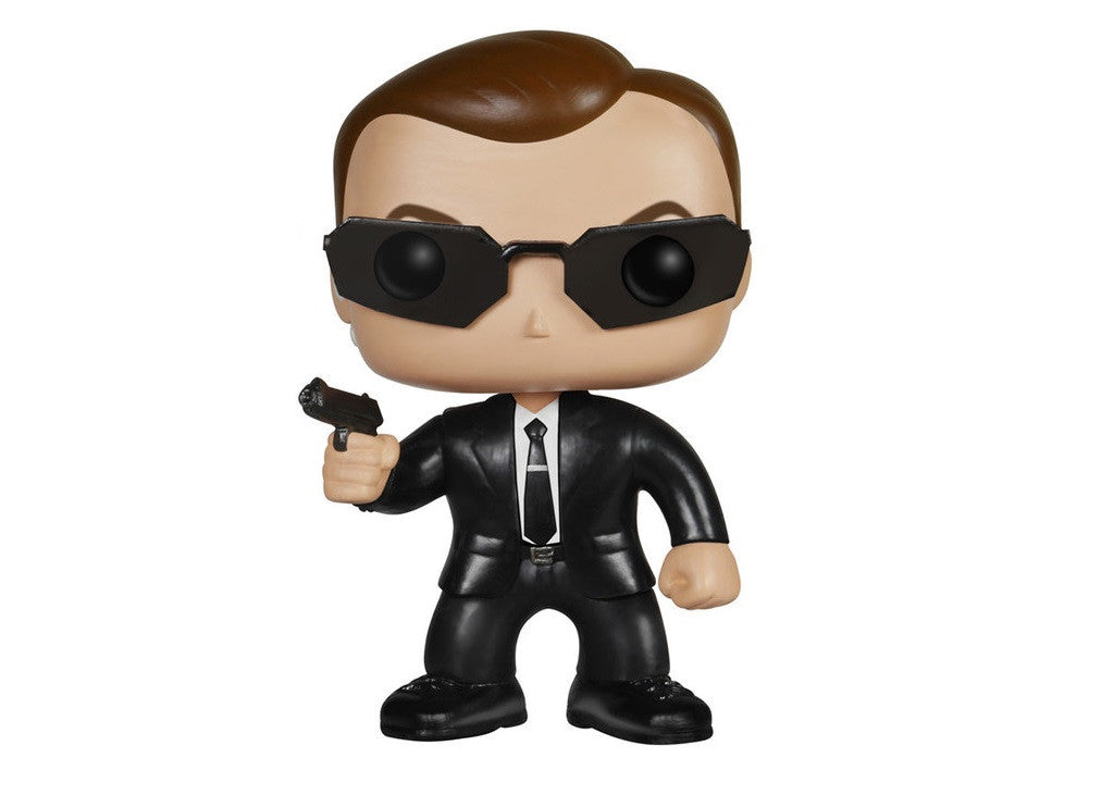 The Matrix Agent Smith Pop! Vinyl Figure-Funko- www.superherotoystore.com-Bobble Heads - 1