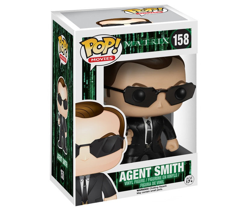 The Matrix Agent Smith Pop! Vinyl Figure-Funko- www.superherotoystore.com-Bobble Heads - 2