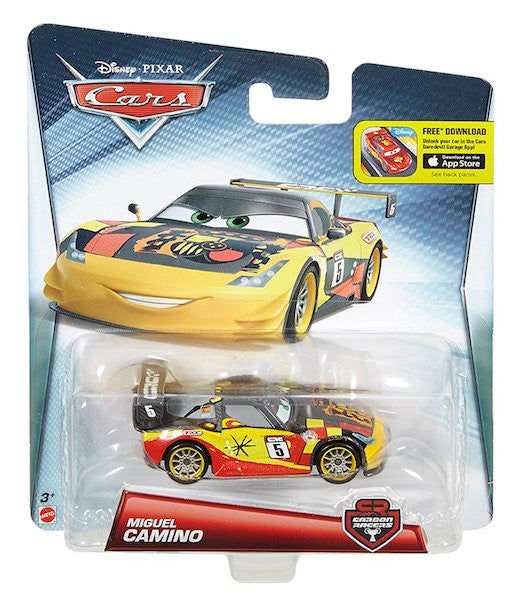 Carbon Racers Miguel Camino Car by Mattel
