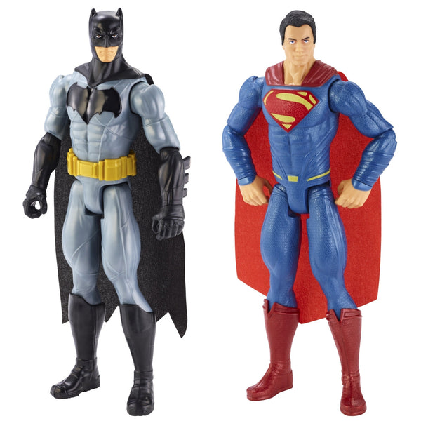 Dawn of Justice Batman & Superman Figure 2 Pack-Mattel- www.superherotoystore.com-Action Figure - 1