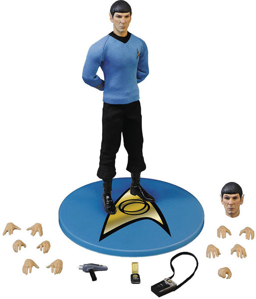 Star Trek Spock Action Figure-Mezco Toys- www.superherotoystore.com-Action Figure - 1
