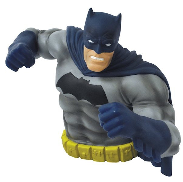 Batman Dark Knight Rises Bust Bank (Blue Version) by Monogram