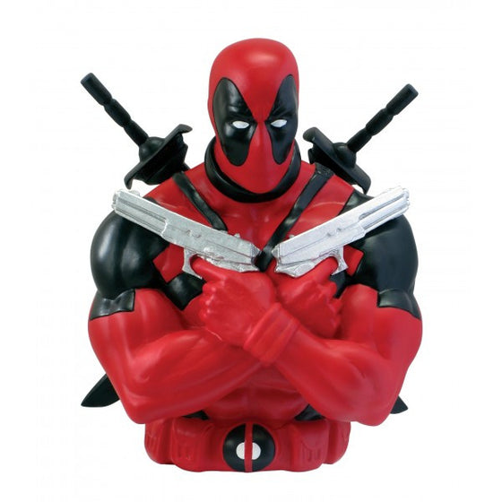 Deadpool Bust Bank by Monogram-Monogram International- www.superherotoystore.com-Bust Bank