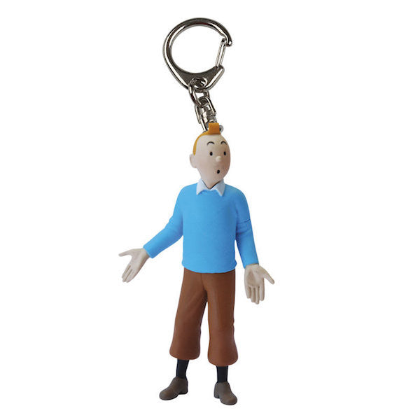 Tintin Blue Pullover Keychain by Moulinsart-Moulinsart- www.superherotoystore.com-Keychains