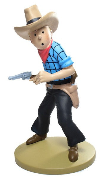 Tintin: Cow-Boy Figure by Moulinsart-Moulinsart- www.superherotoystore.com-Statue