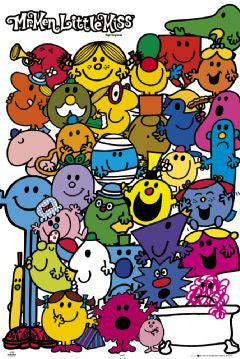 Mr Men & Little Miss Maxi Poster-Superherotoystore.com- www.superherotoystore.com-Posters