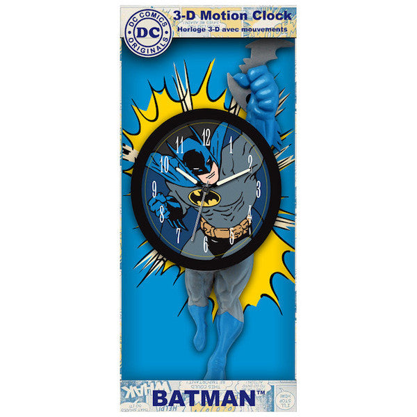 Batman 3D Motion Clock by NJ Croce