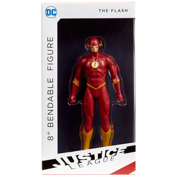 Justice League Flash Bendable Action Figure by NJ Croce